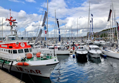 Flensburg Boat Show 2021 - InWater Boat Show in der Sonwik Marina